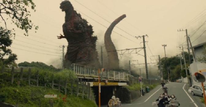 Run! It's Godzilla!