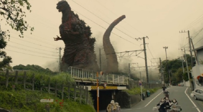 Run! It's Godzilla!