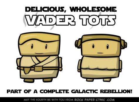 Vader Tots